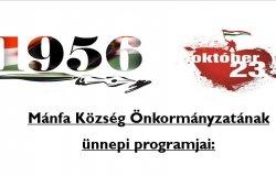 2021. október 23-i ünnepi program!