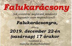 Falukarácsony 2019. december 22-én!