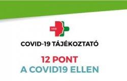 12 pont a COVID19 ellen